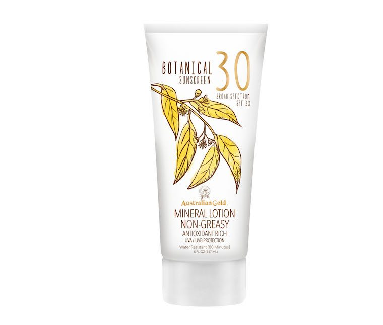 australian gold mineral sunscreen