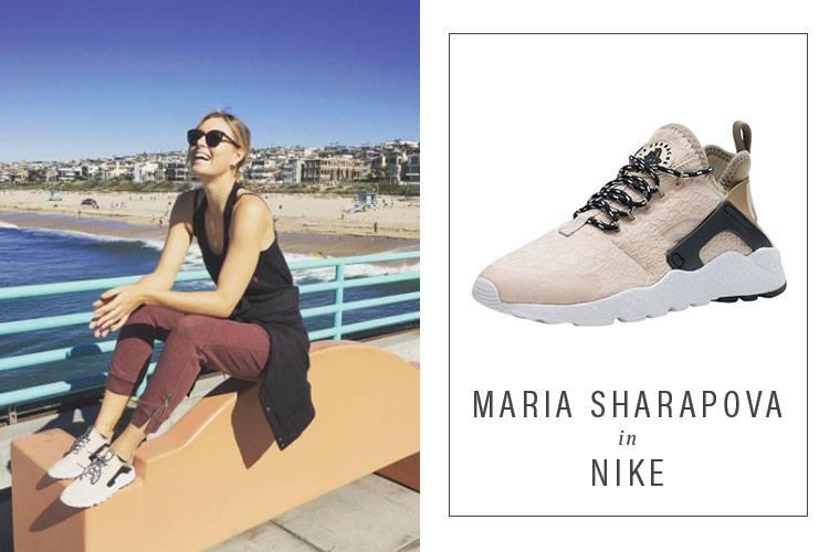 Maria Sharapova Manhattan beach