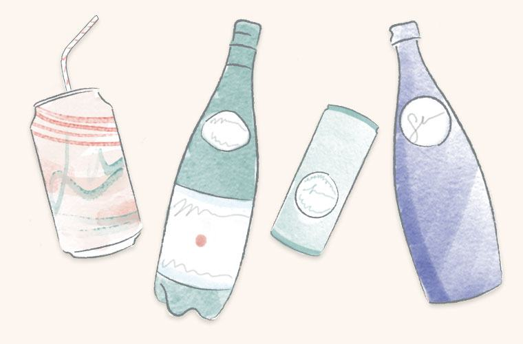Thumbnail for Is flavored sparkling water actually healthy and hydrating?