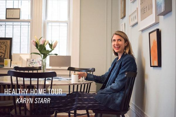 Healthy home tour: The stylist's effortlessly glam, high-vibe oasis