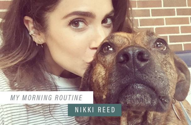 Nikki Reed's morning hydration hack (no lemon necessary)