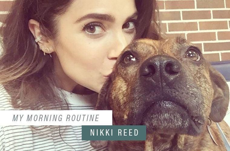 Thumbnail for Nikki Reed's morning hydration hack (no lemon necessary)