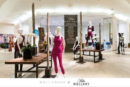 Go behind the scenes of Saks Wellery, retail's new game-changing wellness experience