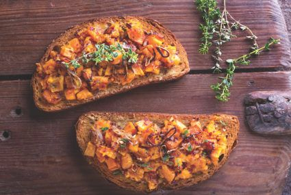 This butternut squash smash will make you crave toast for dinner