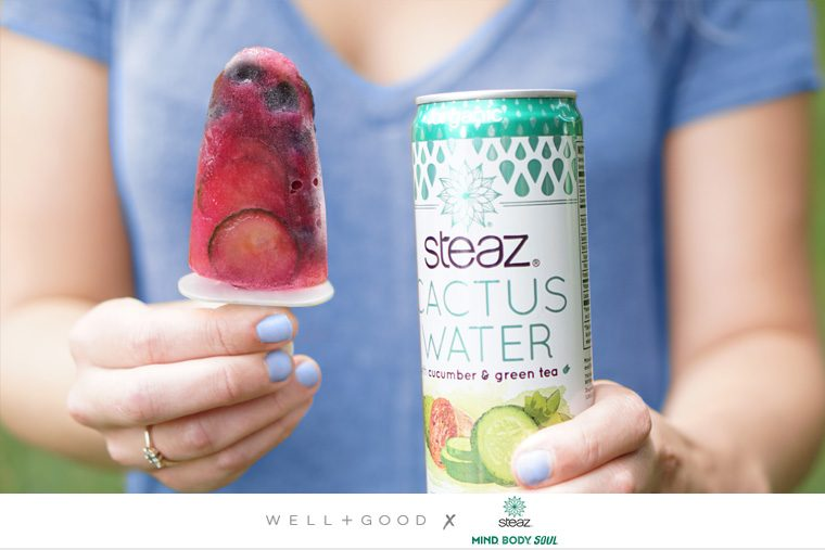 steaz tea cactus water