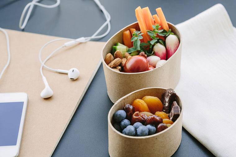 Thumbnail for 7 energizing snacks that wellness execs always keep at the office