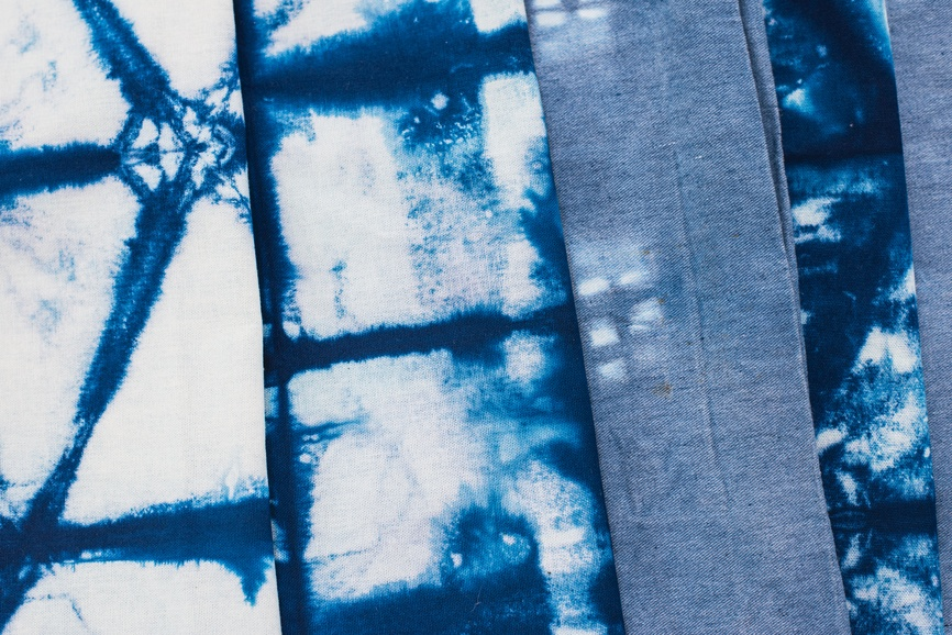 Shibori dye your sheets