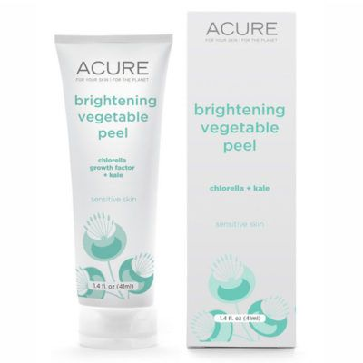 acure vegetable peel