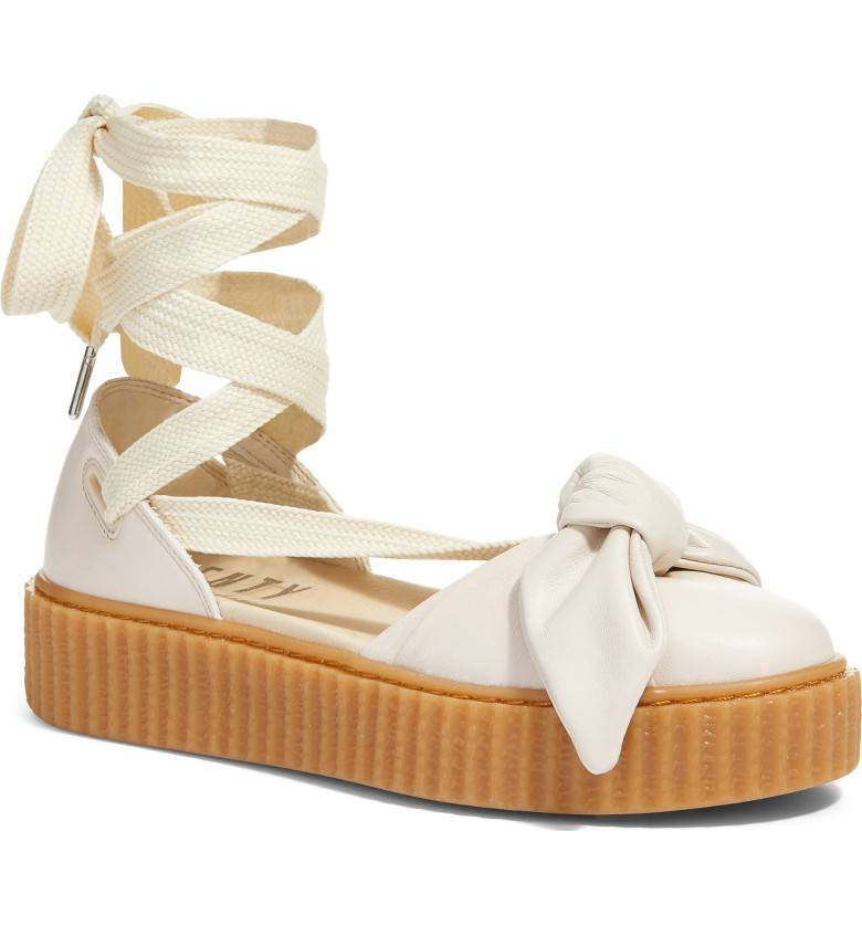 best website f945c 65a71 Rihanna's Fenty x Puma creeper sandal-sneaker | Well+Good