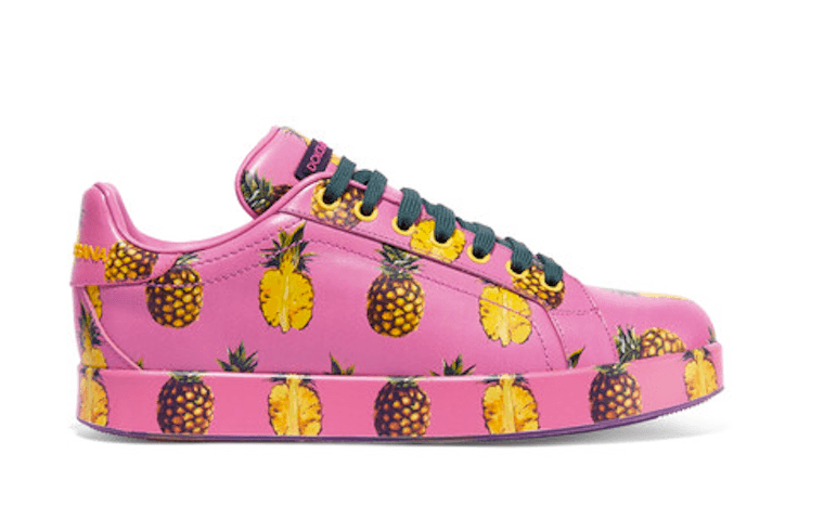 dolce-and-gabbana-printed-leather-pineapple-sneakers