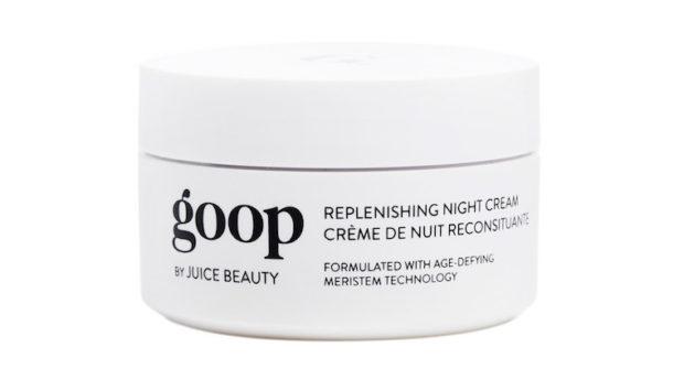 goop night cream