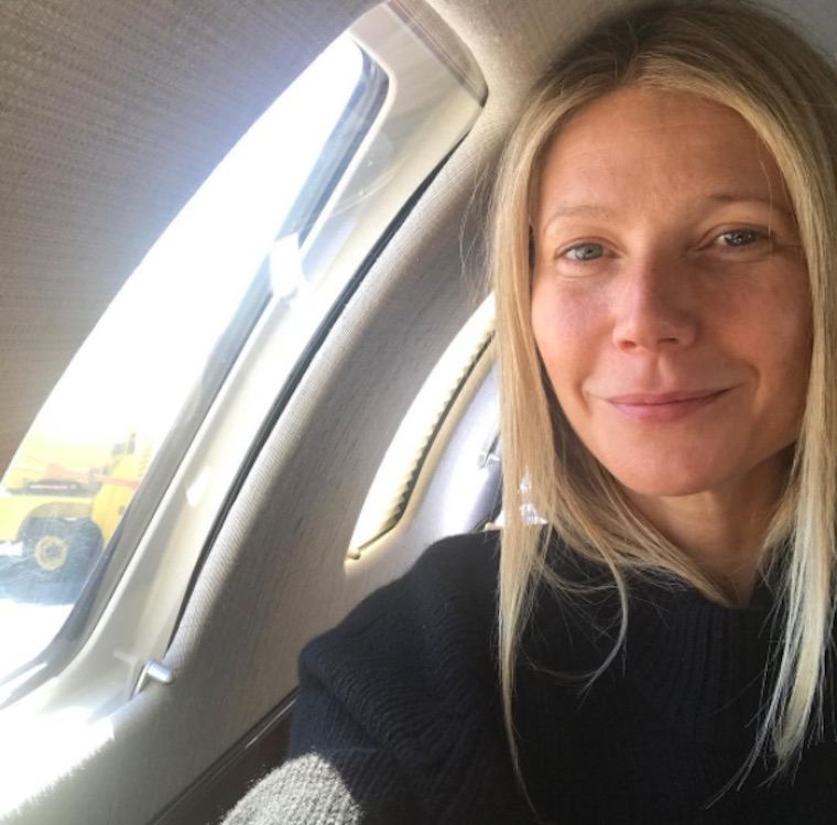 Thumbnail for The 4 (healthy) things Gwyneth Paltrow always brings with her on a plane