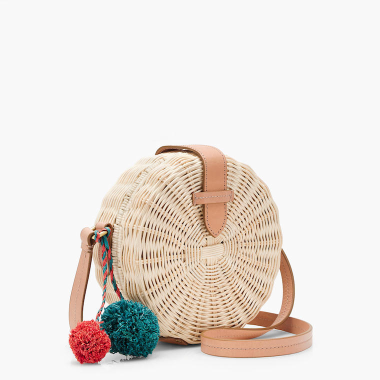 J.Crew circle cross-body bag