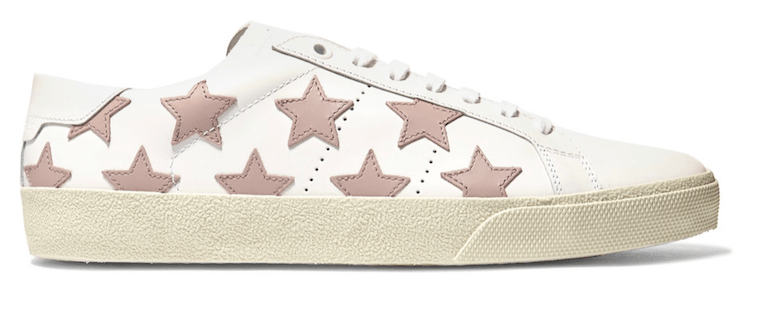 saint-laurent-white-leather-appliqued-sneakers