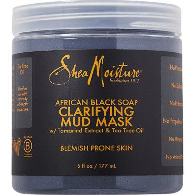 shea moisture mud mask