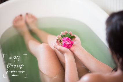 How to make a mermaid bath (yes, it's as dreamy as it sounds)