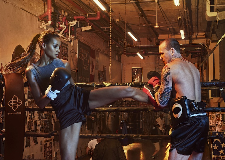 Thumbnail for Why This Victoria's Secret Model Loves Working Out Like a Cage Fighter