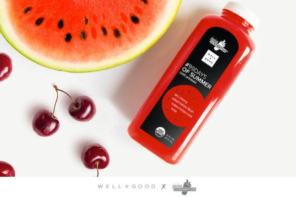 Big news: You can now grab a signature Well+Good juice at Juice Generation