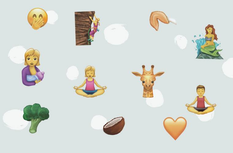 Thumbnail for 56 new emojis are coming—and one makes the perfect post-yoga response