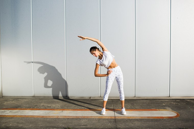 Thumbnail for All-white activewear is seriously trending—here's how to pull it off