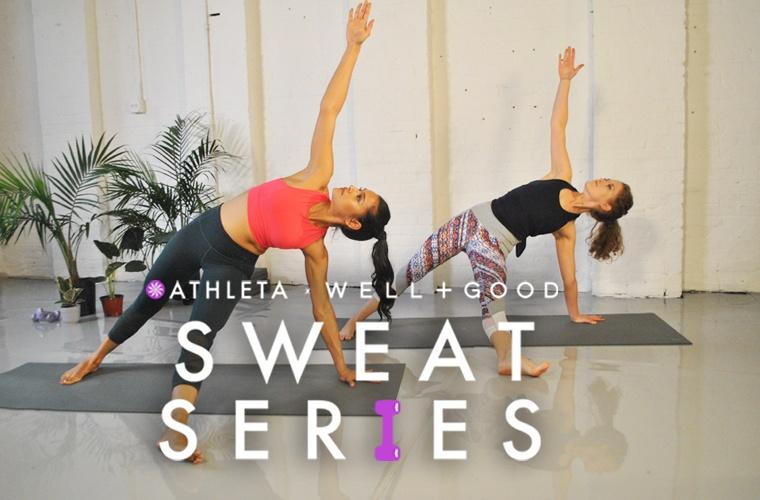 Athleta Sweat series workout videos