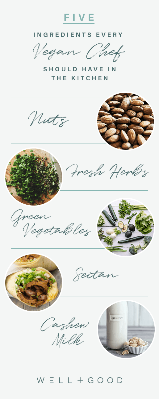 Five Ingredients every vegan chef should have in the kitchen