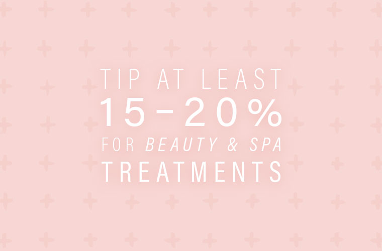 How Much To Tip Hairdresser At Christmas.How Much To Tip For Wellness Services And Treatments Well Good