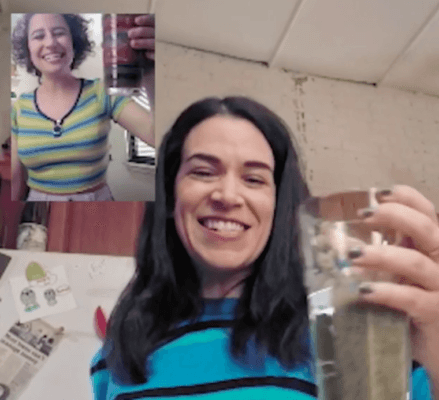 "Making smoothies with the ""Broad City"" girls is the most fun you'll have today"