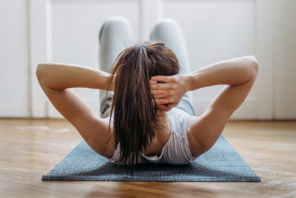Well+Good - 4 mistakes you're probably making with your crunches