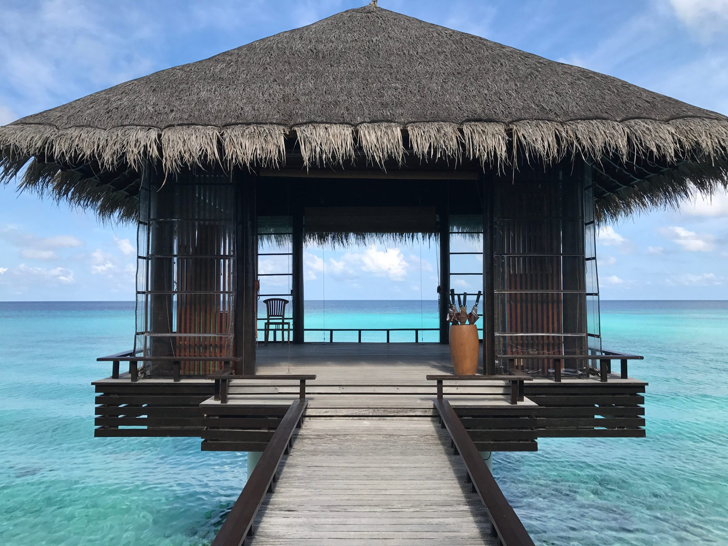 meditation overwater villa at one&only reethi rah in the maldives