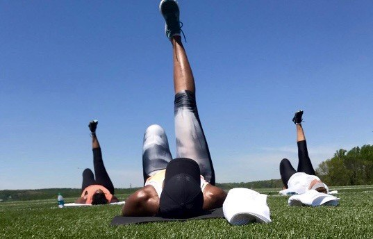 #Workout Goals: Michelle Obama Is Still Hosting Bootcamp Weekends for Her Girlfriends