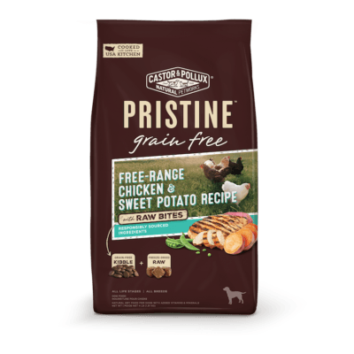 healthy organic pet food pristine