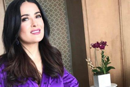 Salma Hayek says it's no accident that she sleeps like a baby—here's her secret