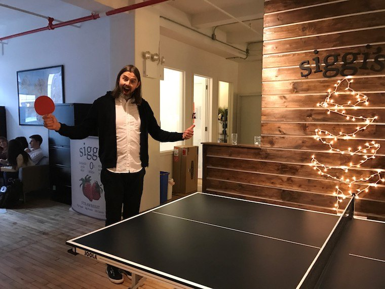 Siggi's NYC office