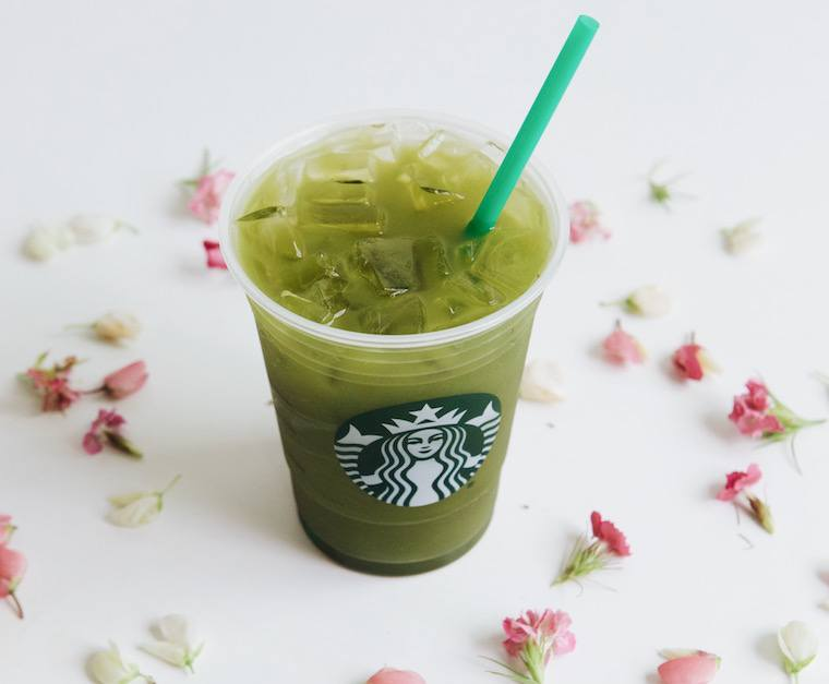 Starbucks matcha tea lemonade