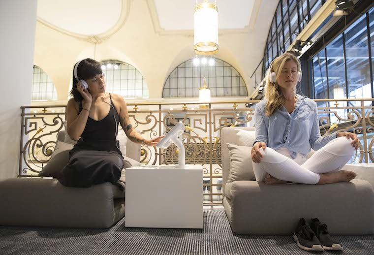 Thumbnail for Lululemon just opened its first meditation space—here's everything you need to know