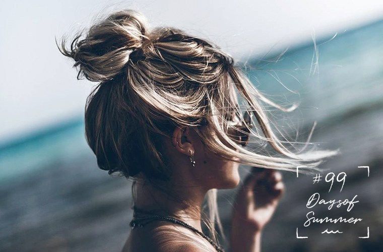 Thumbnail for How to master the messy updo—summer's hottest hair style