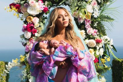 The best part of Beyoncé's twin reveal photo (besides the babies, of course)