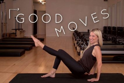 Take your ab workout anywhere with this 2-minute Pilates move