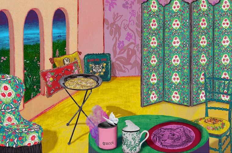 Thumbnail for Gucci wants to design your living room—and its new line has major tarot vibes