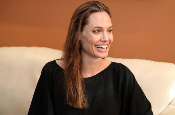 The surprising way Angelina Jolie is healing her Bell's palsy