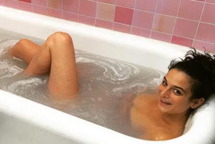 Why Jenny Slate swears by her morning bath