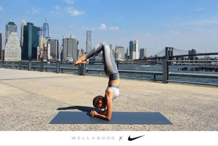 The 4-step method for nailing a scorpion forearm stand, courtesy of a Nike master trainer
