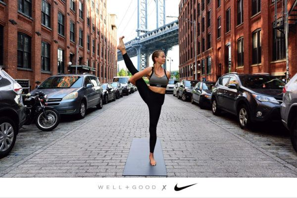 Your complete guide to bird of paradise pose (with pro tips from a Nike master trainer)