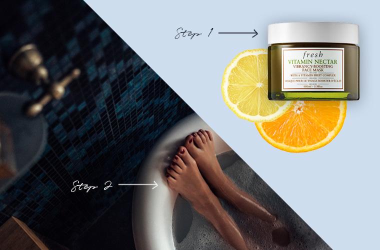 Self-care Sunday skin-care ritual