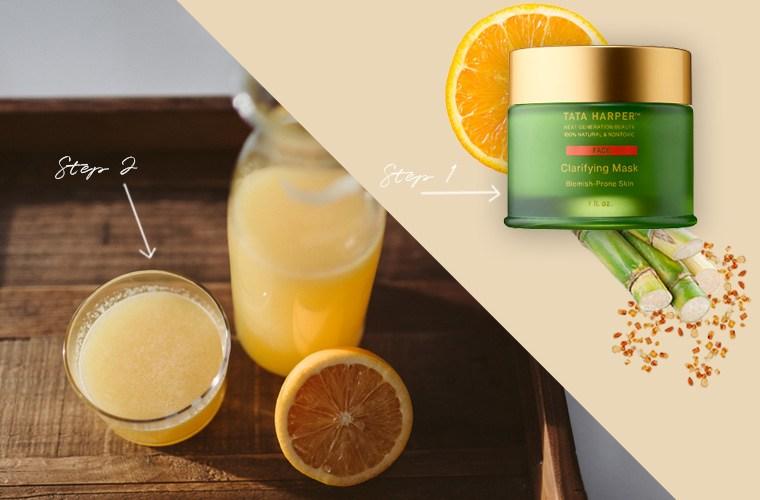 self-care rituals for clear skin