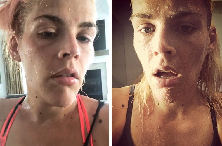 Thumbnail for The living room workout that gets Busy Philipps *this* sweaty
