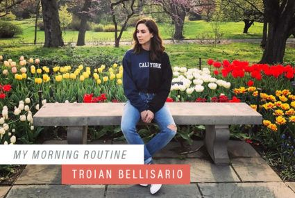 Why Troian Bellisario stopped washing her face in the morning