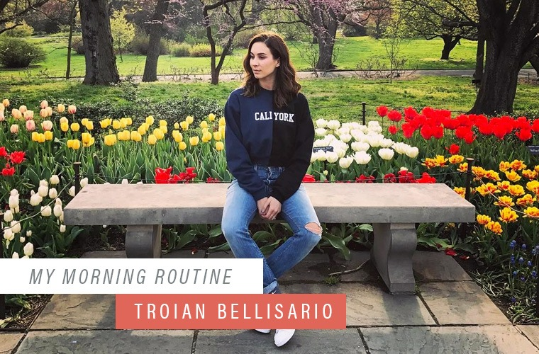 Thumbnail for Why Troian Bellisario stopped washing her face in the morning
