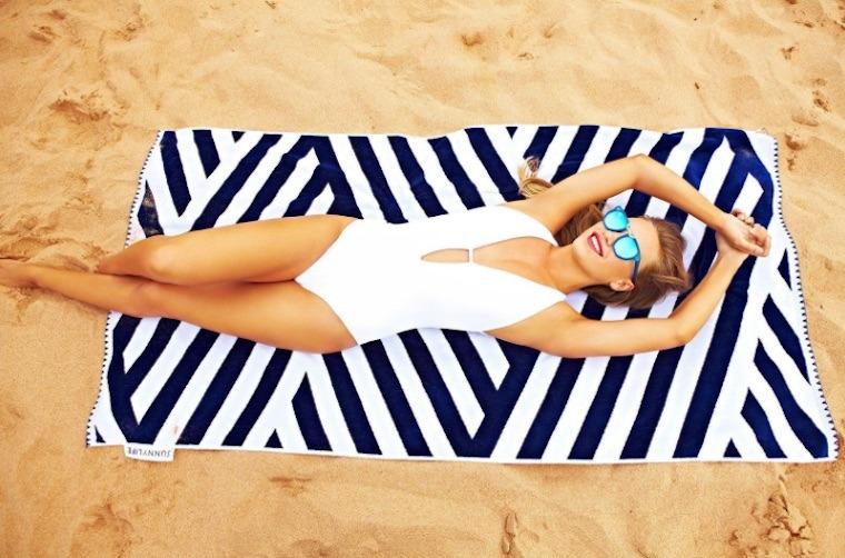 Thumbnail for 11 pretty beach towels to take you from swim to savasana
